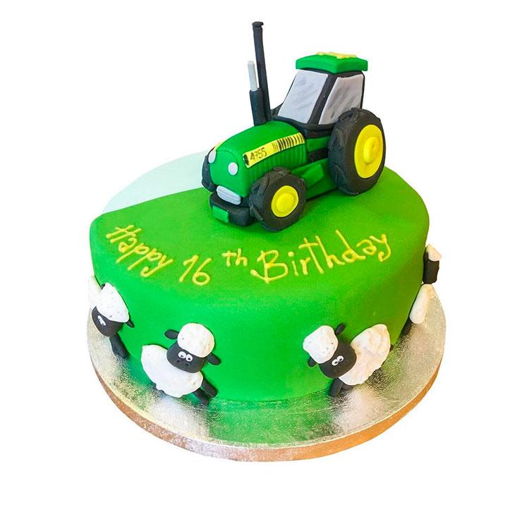 молодоженам торт трактор в картинках предлагает все необходимые