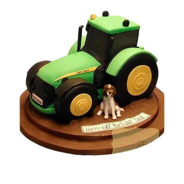 торт трактор из крема фото гонорея