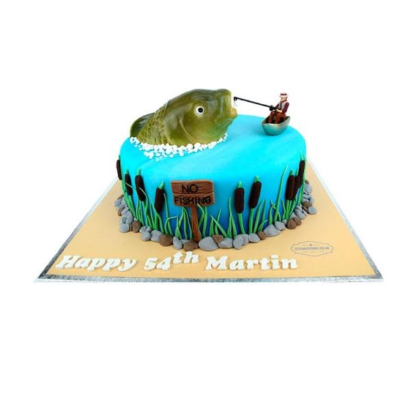 одноклассниках картинка торт для рыбака круто здесь гулять