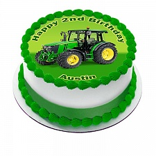 John-Deere-Tractor-Edible-Icing-Image-Round-Party-Cake-Topper