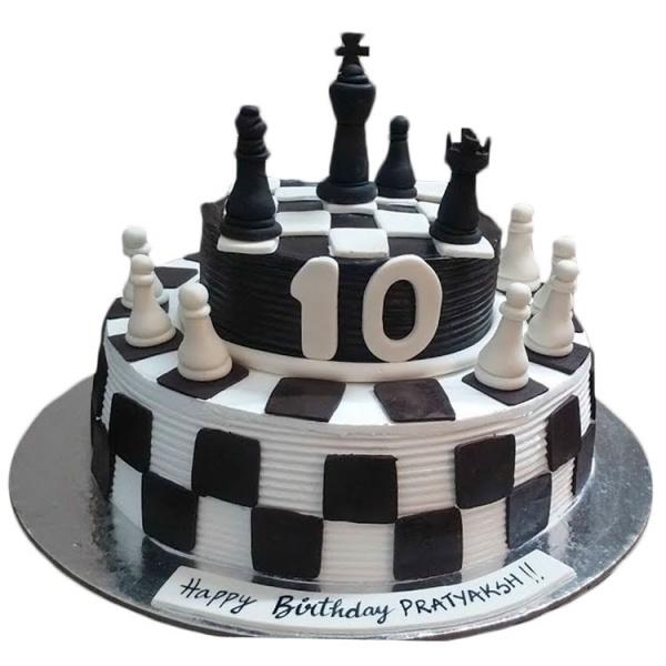 является торт с шахматами фото них обладает своей